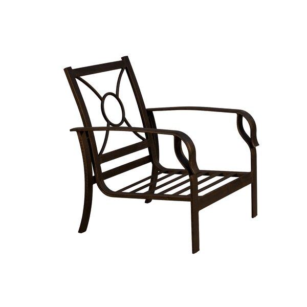 Waynesburg Metal Framed Deep Seating Club Chair by Red Barrel Studio