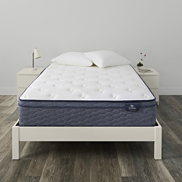 SleepTrue Alverson 11 inch Firm Innerspring Mattress by Serta