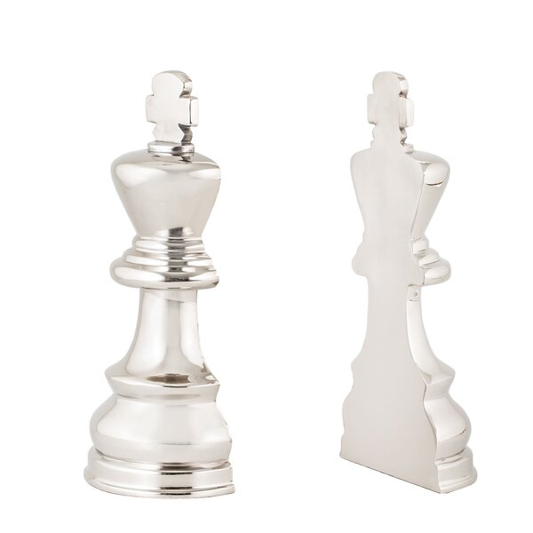 Chess Book Ends (Set of 2) by Darby Home Co