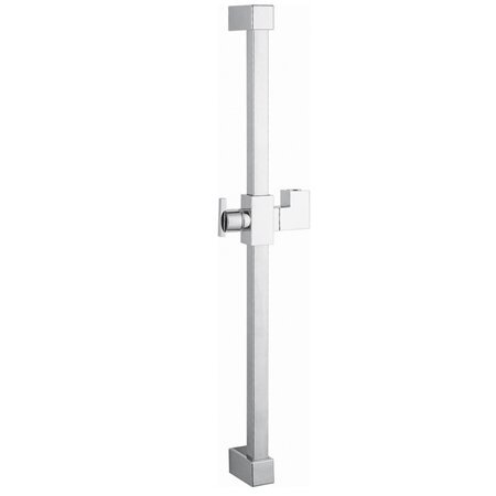 Claremont 23.6 Square Shower Slide Bar by Kingston Brass