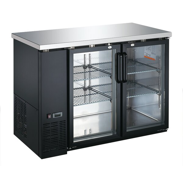 Commercial Glass Door Underbar 11.7 cu. ft. Energy Star Counter Depth All-Refrigerator by EQ Kitchen Line