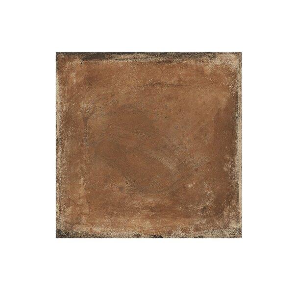 Granada 6.5 x 6.5 Procelain Field Tile in Rojo by Travis Tile Sales