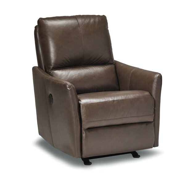 Mcnealy Leather Power Rocker Recliner by Red Barrel Studio Red Barrel Studio