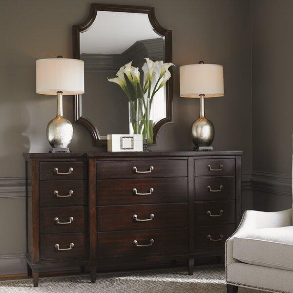Kensington Place 12 Drawer Dresser with Mirror by Lexington
