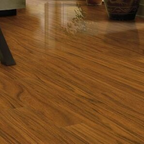 Park Avenue 5 x 48 x 12mm Laminate Flooring in lronwood Amber by Bruce Flooring