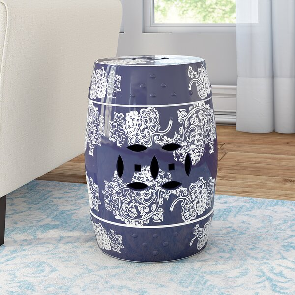 Morgan Sterling Garden Stool by Willa Arlo Interiors