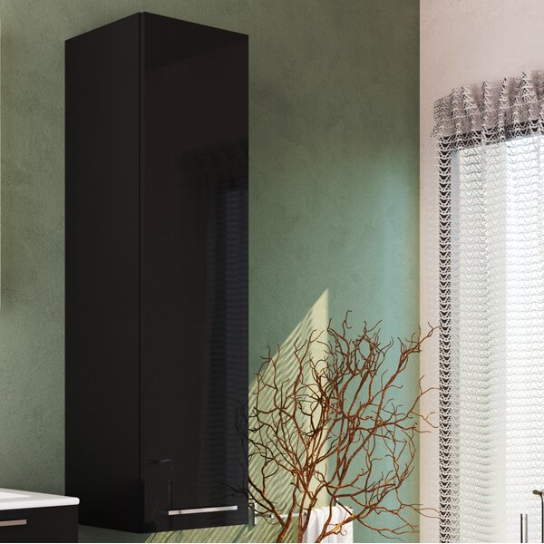 Nico 13.78 W x 49.21 H Wall Mounted Cabinet by Orren Ellis