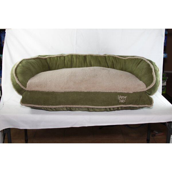 Luxurious Microsuede Dog Bolster by Happy Tails