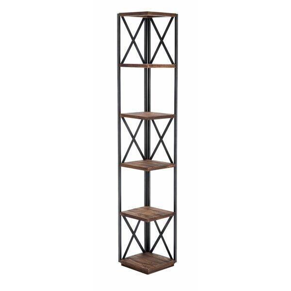 Konen Metal Corner Bookcase By Gracie Oaks