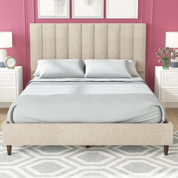 Barbagallo Upholstered Standard Bed by Mercury Row