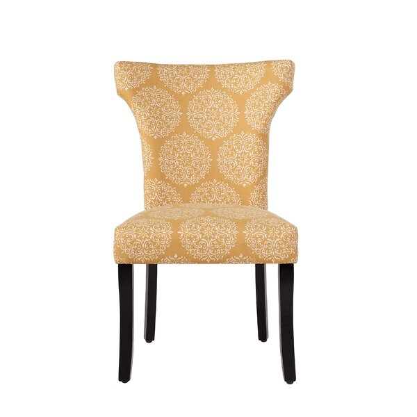 Hessie Upholstered Dining Chair by Charlton Home