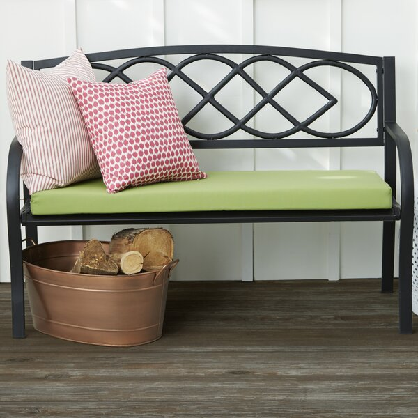 Celtic Knot Iron Garden Bench by Plow & Hearth