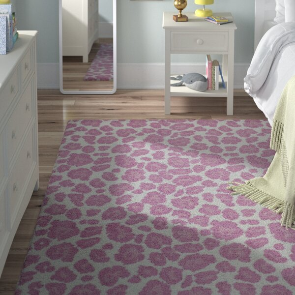 Anita Hand-Tufted Pink Area Rug by Viv + Rae