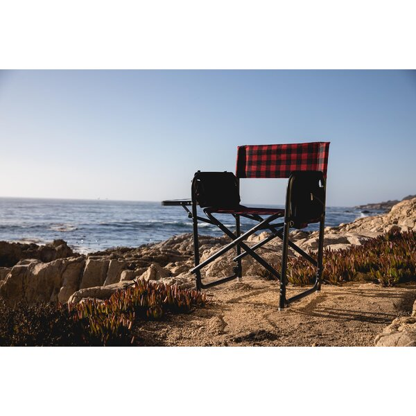 Pelham Folding Director Chair by Millwood Pines Millwood Pines
