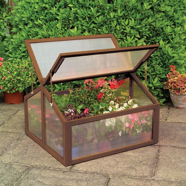 2.9 Ft. W x 2.11 Ft. D Cold-Frame Greenhouse by Gardman