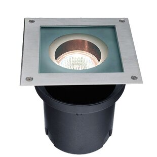 Purchase Swain One Light Square Stainless Steel Wall Light in Black By Freeport Park
