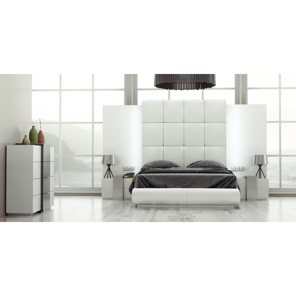 Bargain Helotes Queen Platform 4 Piece Bedroom Set By Orren Ellis Comparison