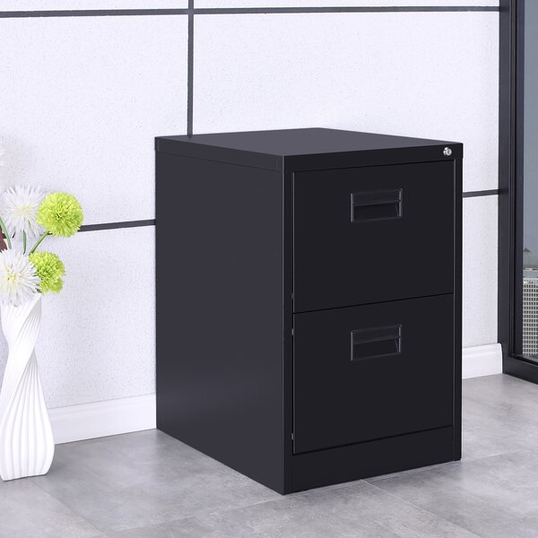 Willilams 2-Drawer Mobile Vertical Filing Cabinet by Symple Stuff