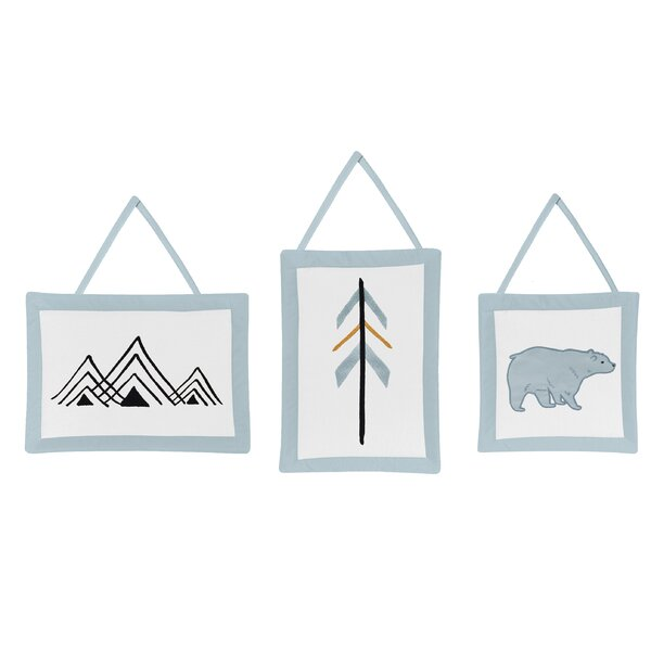 Bear Mountain Tapestry and Wall Hanging Set (Set of 3) by Sweet Jojo Designs
