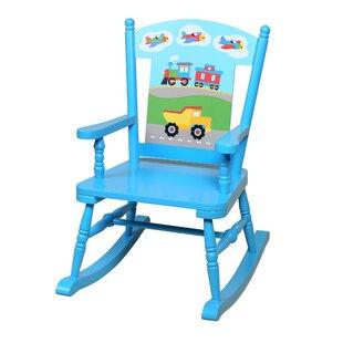 Purchase Olive Kids Trains, Planes, Trucks Rocking Chair ByOlive Kids