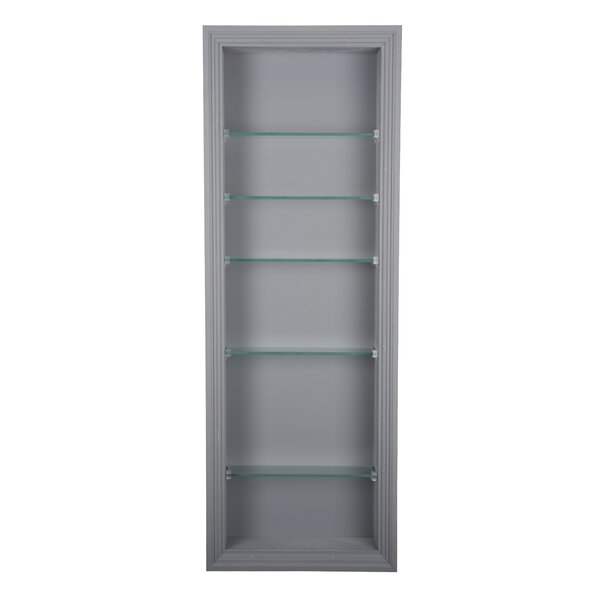 Newberry 14 W x 48 H Recessed Cabinet by WG Wood Products
