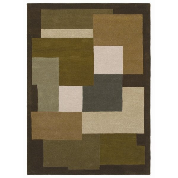 Ashley Green/beige Area Rug By Acura Rugs.