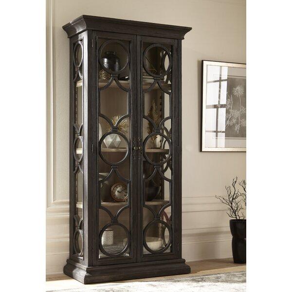 Aryanna Single Curio Cabinet by One Allium Way