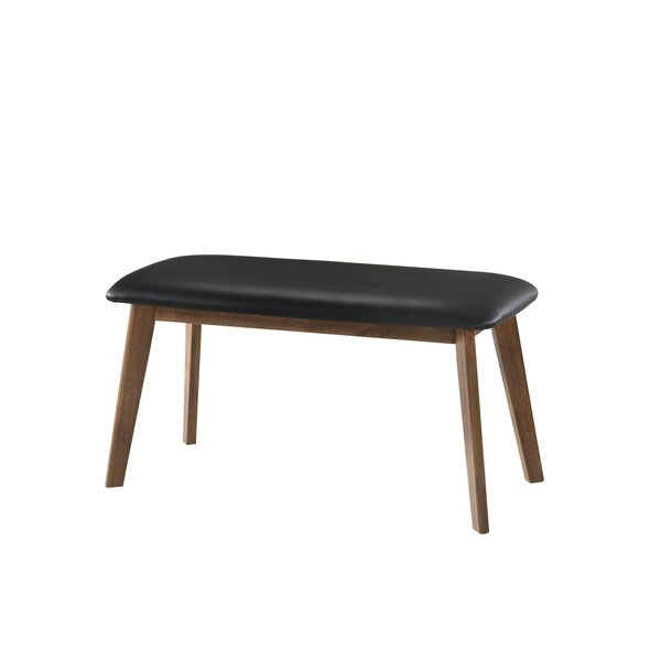 Gilbertson Faux Leather Dining Bench by George Oliver George Oliver