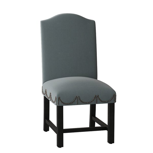 Review Regency Upholstered Dining Chair
