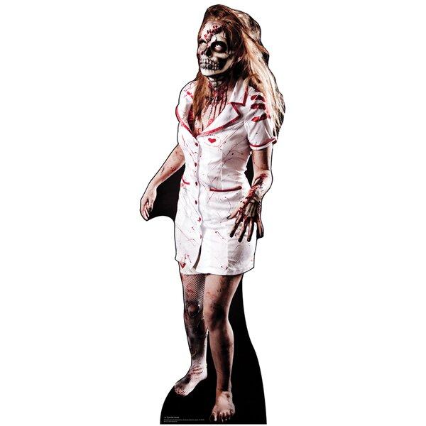 Zombie Nurse Cardboard Standup by Advanced Graphics