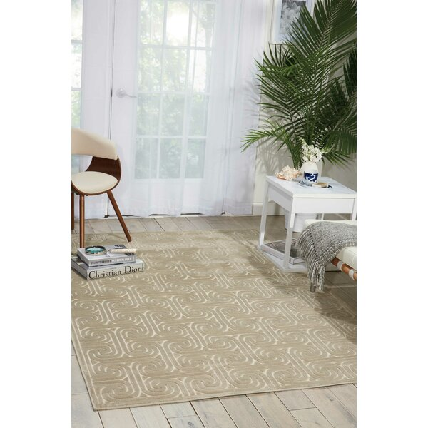 Interlock Light Gray Indoor Area Rug by Kelly Ripa Home
