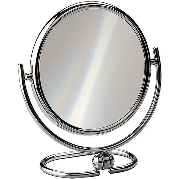 Housley Round Double-Sided Makeup/Shaving Mirror by Charlton Home