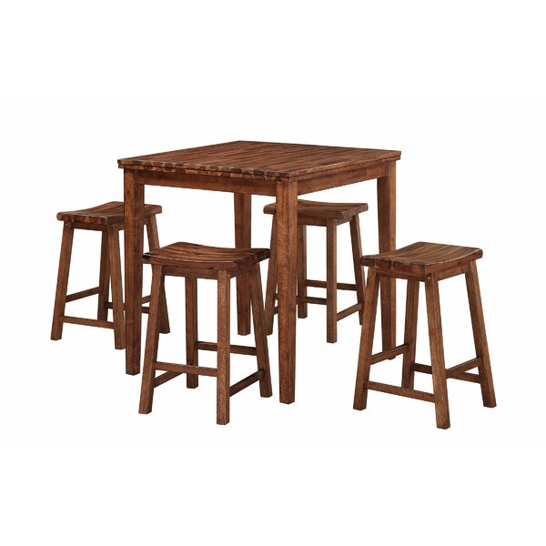 Blanco Point 5 Piece Dining Set by Loon Peak