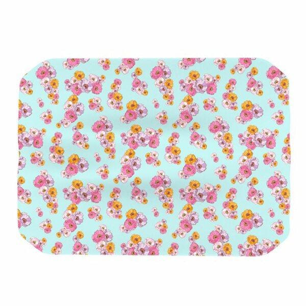 Paper Flower Placemat by KESS InHouse
