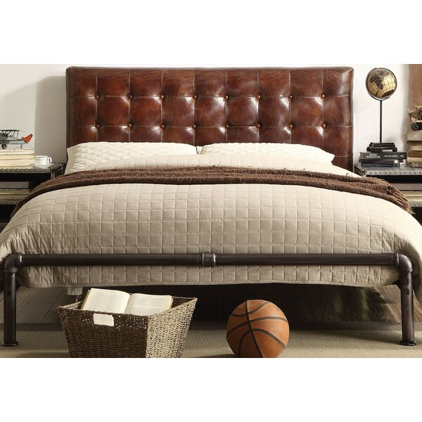 Regina Queen Upholstered Platform Bed by 17 Stories