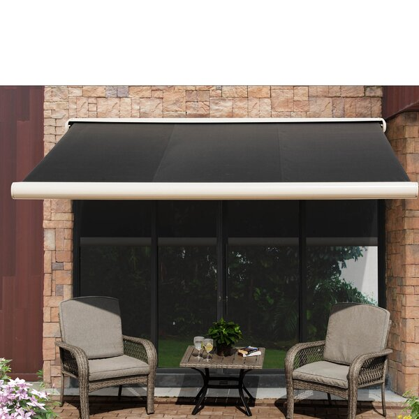Sunjoy 10 ft. W x 8 ft. D Retractable Patio Awning by Sunjoy