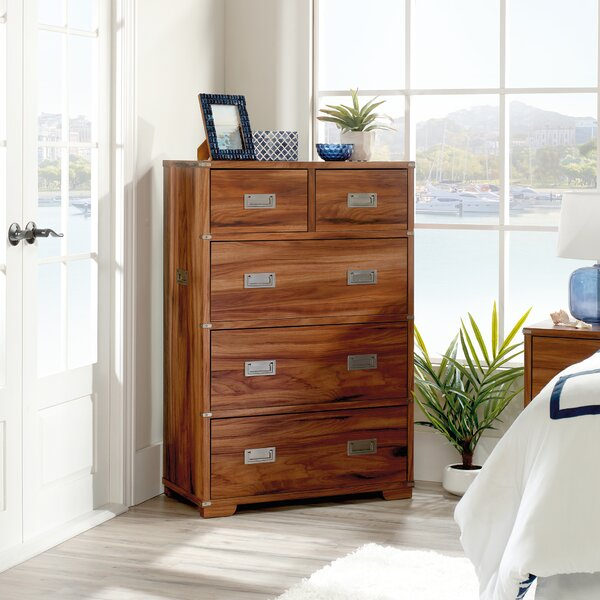 Morgan Vista Key 5 Drawer Chest by Longshore Tides
