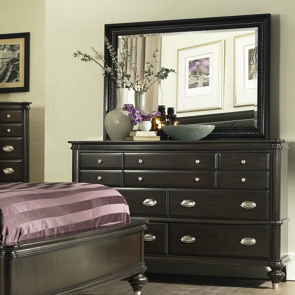Balmers 7 Drawer Dresser with Mirror by Astoria Grand
