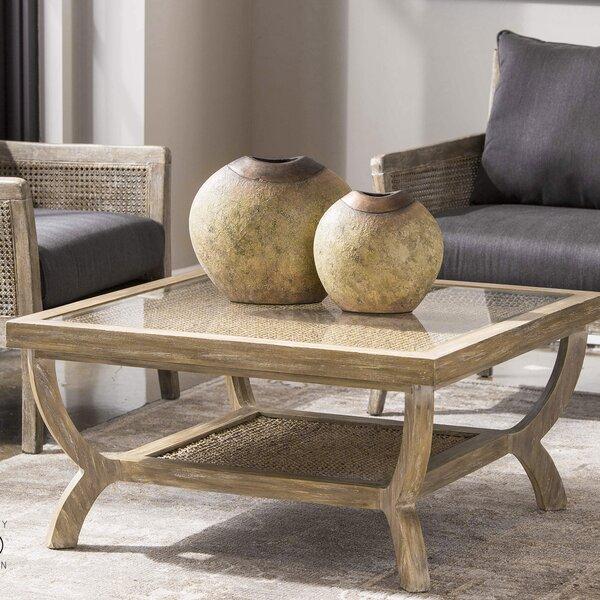 Harper Oak Coffee Table by Bayou Breeze