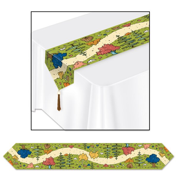 Woodland Friends Table Runner by The Beistle Company