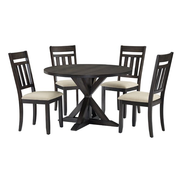 Jaida 5 Piece Dining Set by Gracie Oaks Gracie Oaks