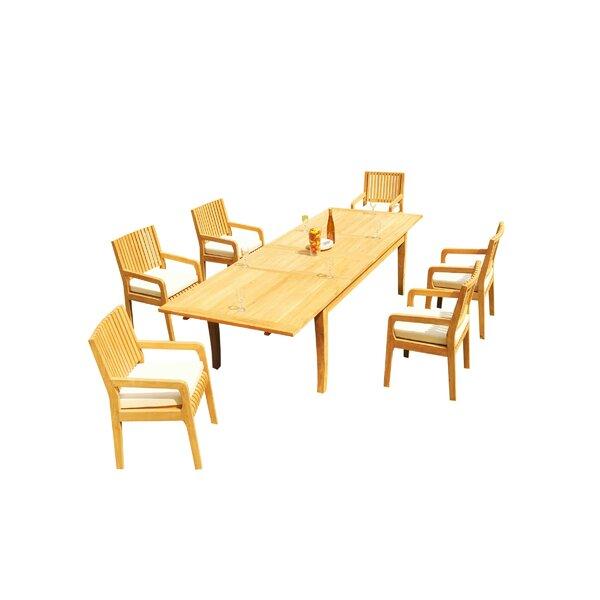Masson 7 Piece Teak Dining Set