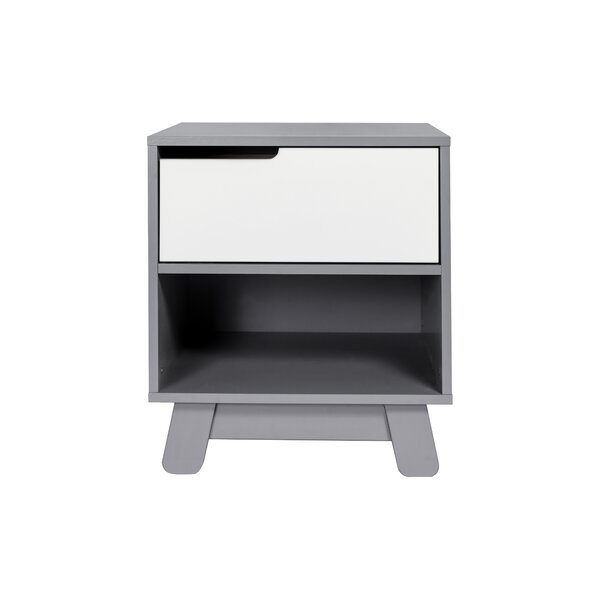Hudson 1 Drawer Nightstand by babyletto