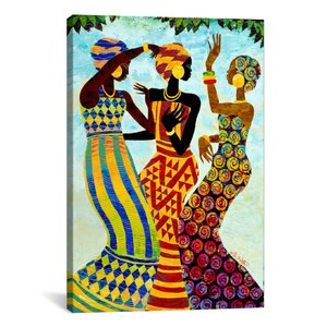 Celebration by Keith Mallett Painting Print on Canvas by iCanvas