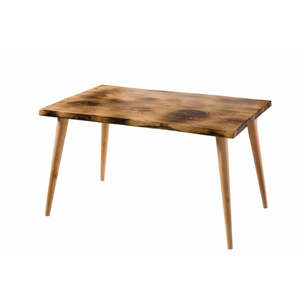 Ryan Solid Wood Dining Table by Union Rustic