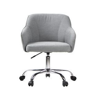 Bargain Burgett Genuine Leather Executive Chair by Ebern Designs