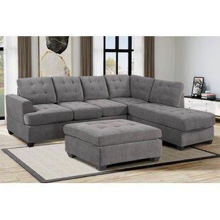 Dushon 3 Piece Living Room Set by Latitude Run®