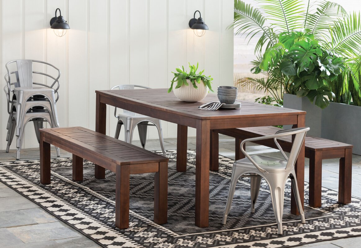 Rockefeller 3 Piece Dining Set & Reviews | AllModern
