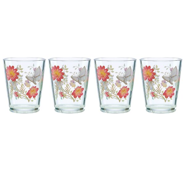 Meadow 16 oz. Acrylic Every Day Glass (Set of 4) by Lenox