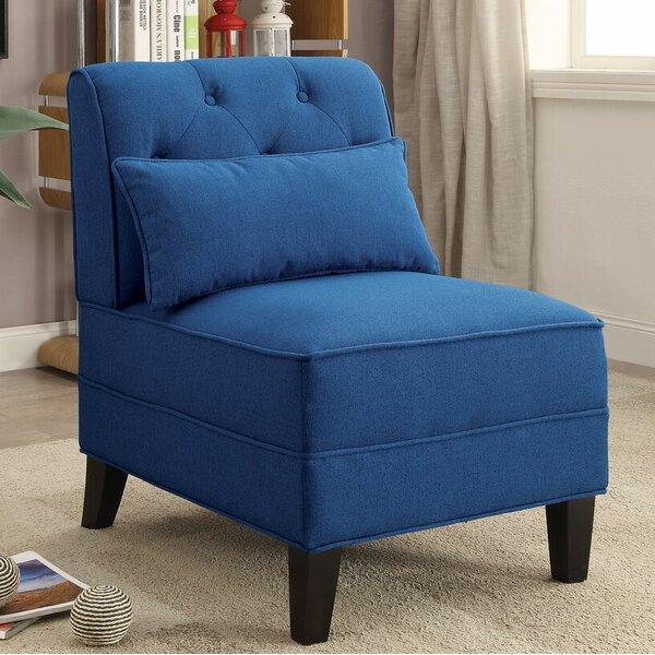 Riccio Slipper Chair by Latitude Run
